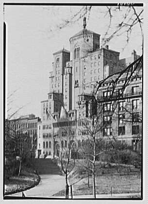 Y.M.C.A., 63rd St., New York City. From Central Park II