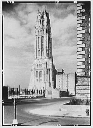 Riverside Church, New York City. Tower from southwest