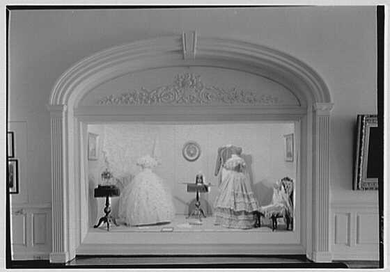 Museum of the City of New York, 5th Ave. and 103rd St., New York City. Costume group I