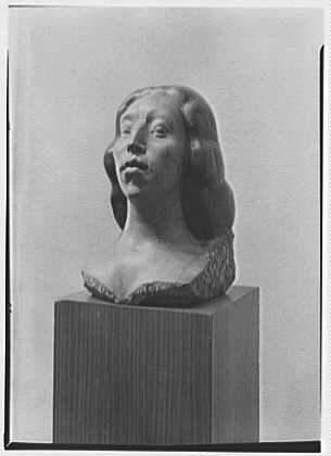 Gaston Lachaise, exhibition at Museum of Modern Art. Head I