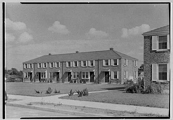 New Brunswick Housing Authority. Reed Court, general view II
