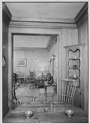 Whist Club, 6 E. 61st St., New York City. Pine room, to new sofa II