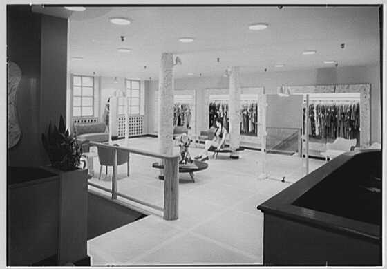 Pat Darling, business at 311 N. Howard St., Baltimore, Maryland. General view, 2nd floor I