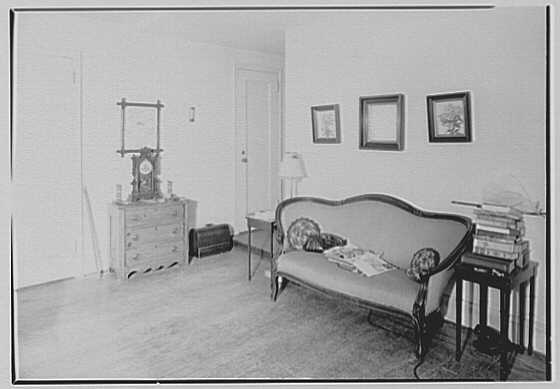 Mrs. Hazelton, residence at 7 Gracie Sq., New York City. Interior I