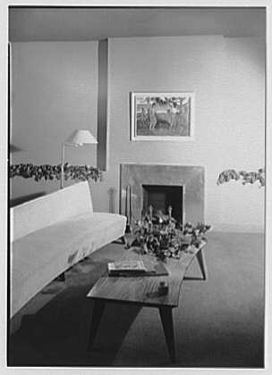Sheldon M. Rutter, residence at 212 E. 49th St., New York City. Living room I