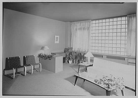 Sheldon M. Rutter, residence at 212 E. 49th St., New York City. Living room II