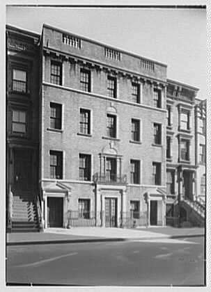 61 E. 107th St., New York City. Exterior