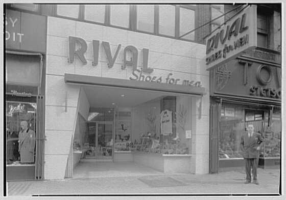 Rival Shoe Company, business at 151 W. 125th St., New York City. Exterior