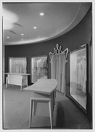 Bonwit Teller, business at 17th and Chestnut, Philadelphia, Pennsylvania. Interior IV