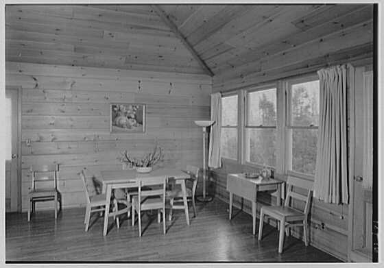 Dr. William Lefkowitz, residence in Wiccopee, New York. Living room III