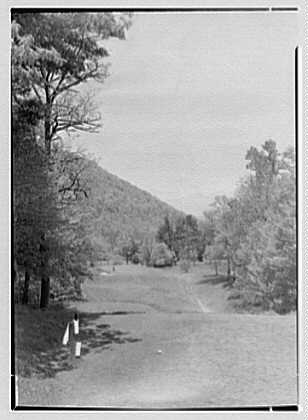 The Homestead, Hot Springs, Virginia. Fourth tee