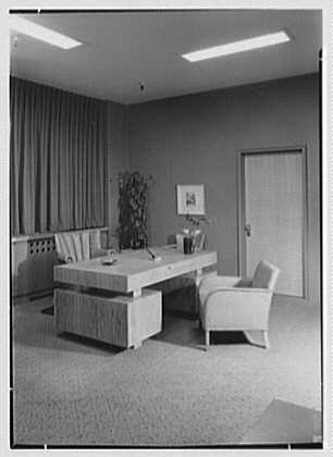 Amertrade, Inc., 1 Park Ave., New York City. President's office II