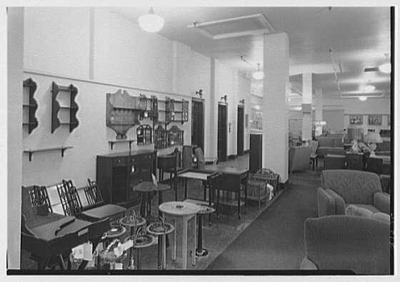 Pomeroy Co., business in Harrisburg, Pennsylvania. Furniture department II