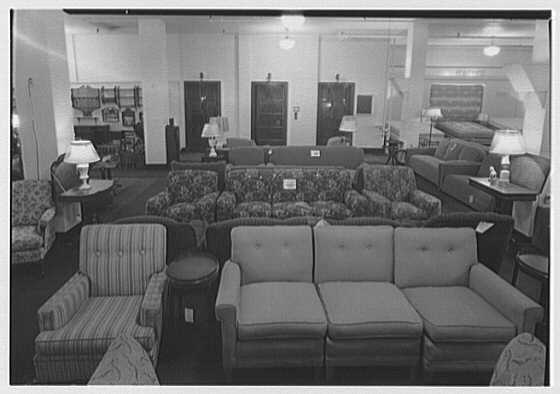 Pomeroy Co., business in Harrisburg, Pennsylvania. Furniture department V