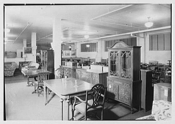Pomeroy Co., business in Harrisburg, Pennsylvania. Furniture department XXXII