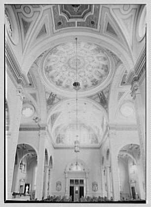 St. Martin de Tours Church, 1288 Hancock St., Brooklyn, New York. Interior II