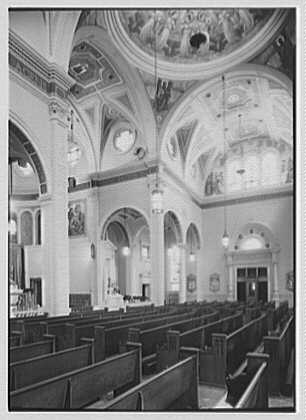 St. Martin de Tours Church, 1288 Hancock St., Brooklyn, New York. Interior IV