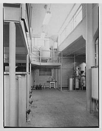 Abbott Laboratories, 1350 Cote de Liesse, Montreal, Canada. Distilling department in manufacturing department