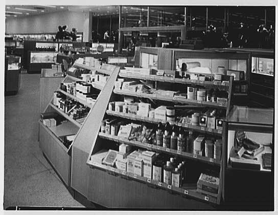 Macy's, business in Jamaica, Long Island, New York. Drug fixture