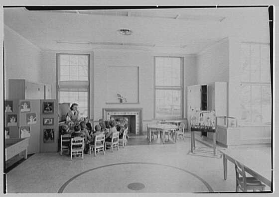 Quaker Ridge Elementary School, Weaver St., Scarsdale, New York. Kindergarten I