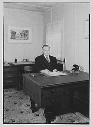 Viewpoint School, Amenia, New York. Mr. Armin in office