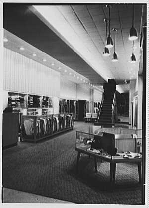 Messinger's, business in New Rochelle, New York. General view
