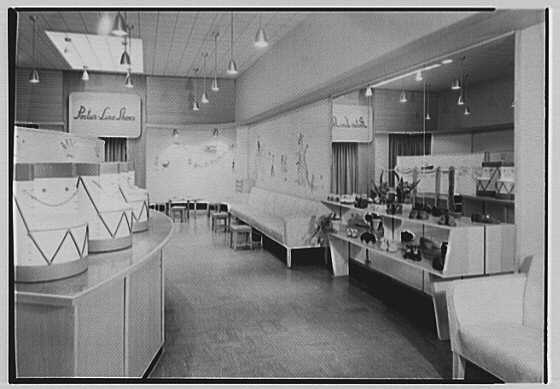Postur-Line, business at 469 Central Ave., Cedarhurst, Long Island. Interior III