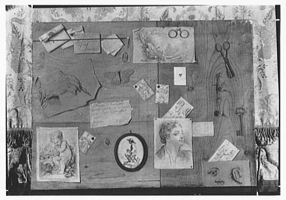 Josephine Howell, business on E. 57th St., New York City. Trompe l'oeil II