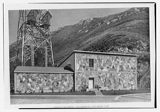 American Telephone & Telegraph Co., East Bench, Utah. Radio relay station