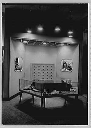 Messinger's, business in New Rochelle, New York. View to display table