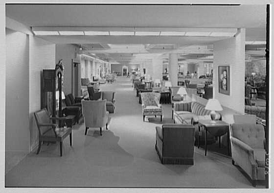 Stern Bros., business on W. 42nd St., New York City. Furniture department III