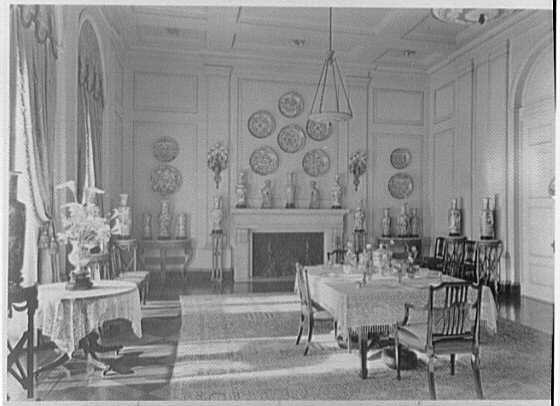 John D. Rockefeller, Jr., residence at 10 W. 54th St., New York City. Dining room I