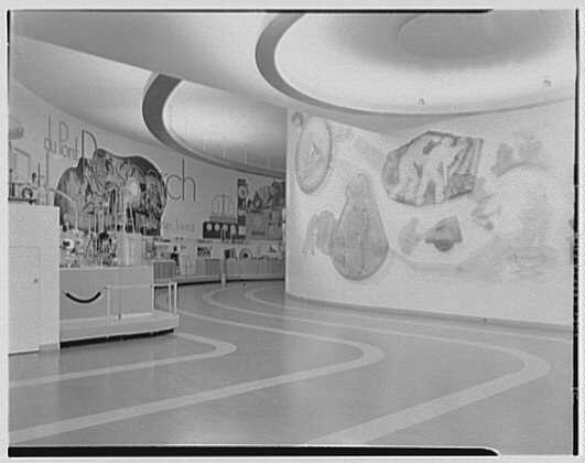 World's Fair, DuPont Building. Interior III