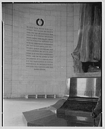 Jefferson Memorial, Washington, D.C. Inscription