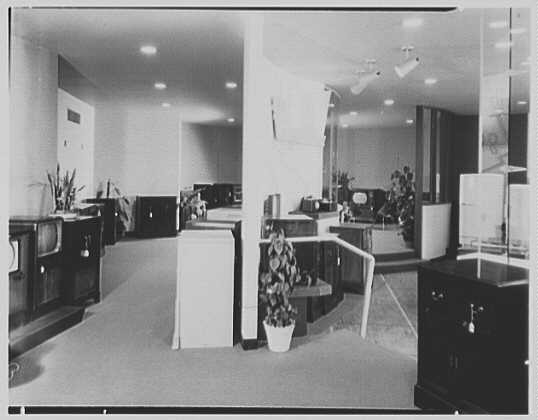 Stevens Radio, business on Steinway Ave., Astoria, Long Island, New York. Interior II
