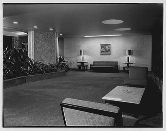 Majestic Apartments, Forest Hills, Long Island, New York. Lobby I