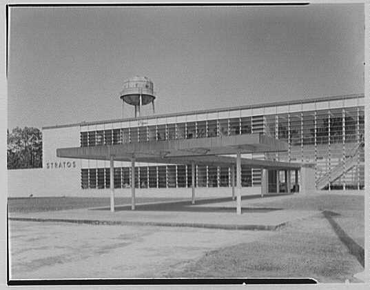 Fairchild Aircraft Corporation, Bayshore, Long Island, New York. Exterior II