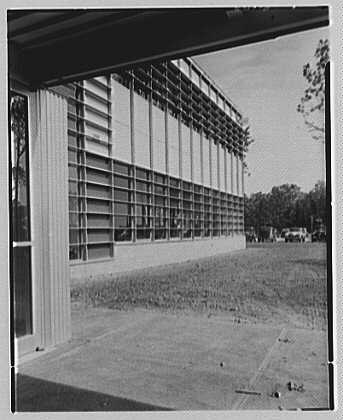 Fairchild Aircraft Corporation, Bayshore, Long Island, New York. Sharp view to panels