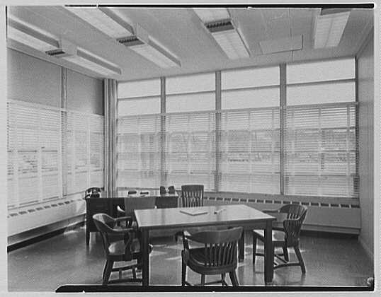 Fairchild Aircraft Corporation, Bayshore, Long Island, New York. Corner office