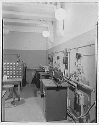 John Thompson Dorrance Laboratory, M.I.T., Cambridge, Massachusetts. X-ray defractor