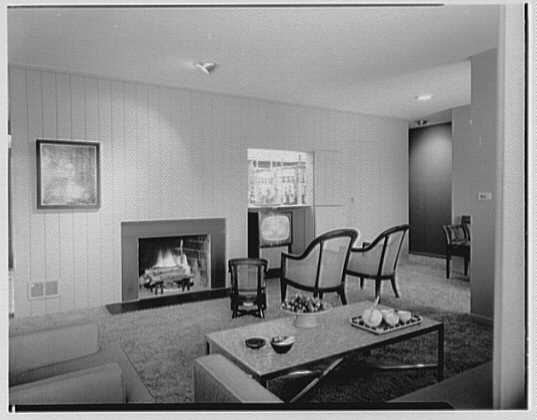 Willow Brook Estates. View to television-bar