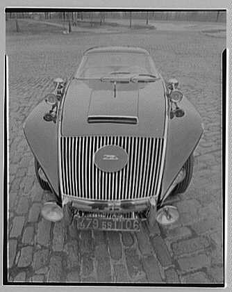 Raymond Loewy's Jaguar car. View IV