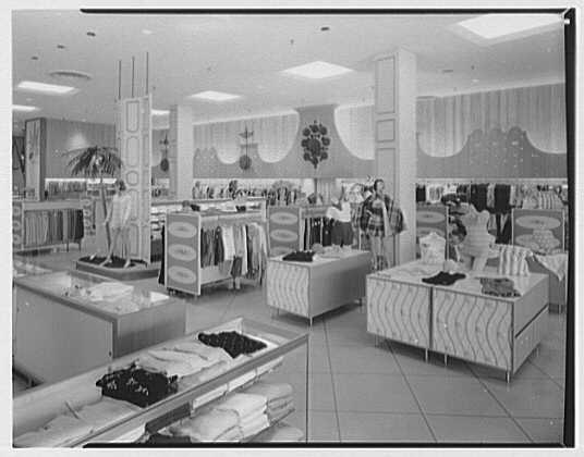 Burdine's department store, business in 163rd St. Shopping Center, Miami, Florida. Sportswear I