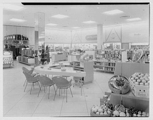 Burdine's department store, business in 163rd St. Shopping Center, Miami, Florida. Sporting goods & luggage