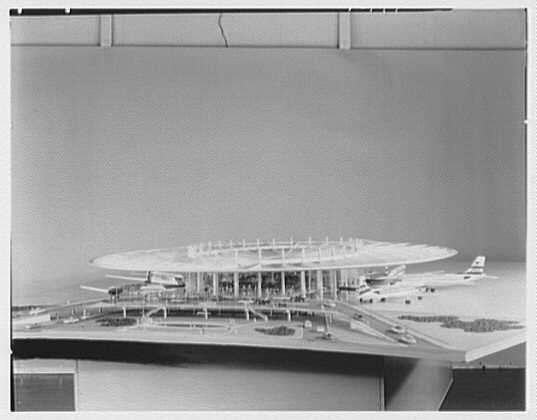 Pan American Airlines, Long Island City. Model IV