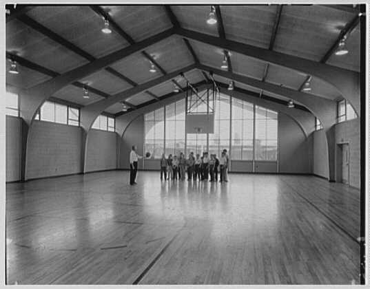 John J. Shaugnessy School, Lowell, Massachusetts. Gymnasium