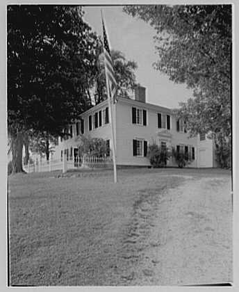 Pierce homestead, Hillsboro, New Hampshire. Exterior II
