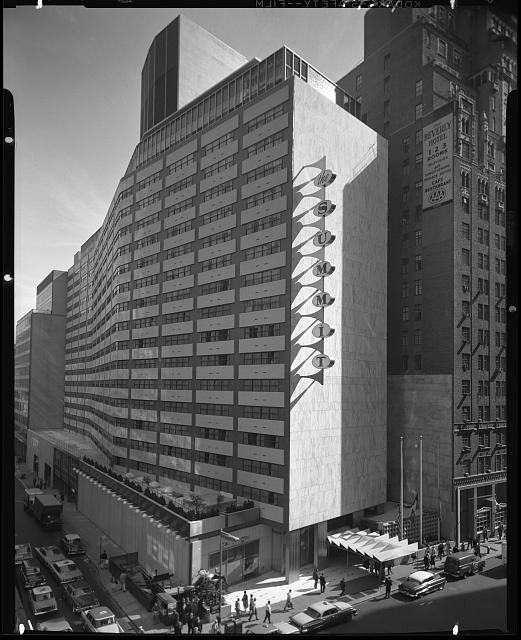 Summit Hotel, 51st St. and Lexington Ave. Exterior from northwest II