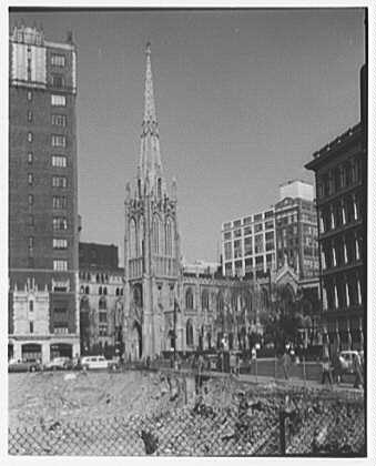 Grace Church, 9th and Broadway, New York City. General view