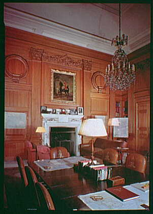 British Embassy, Washington, D.C. Lord Halifax's study